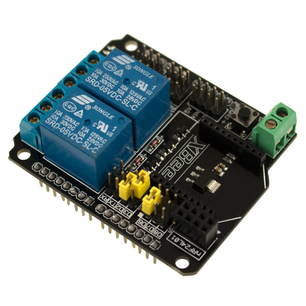Shield Xbee Para Arduino Con Módulos De Relay